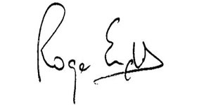 Roger - signature